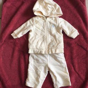 Ralph Lauren jogging suit size 6months